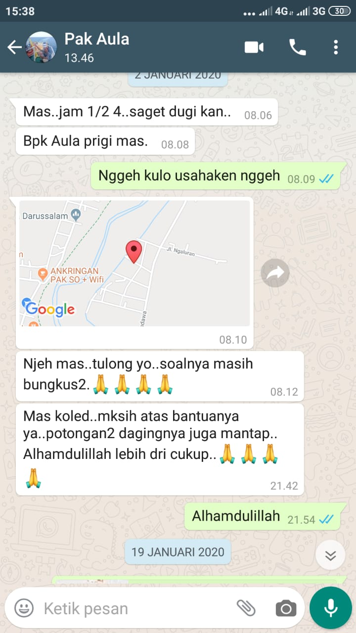 Testimoni Aqiqah Semarang