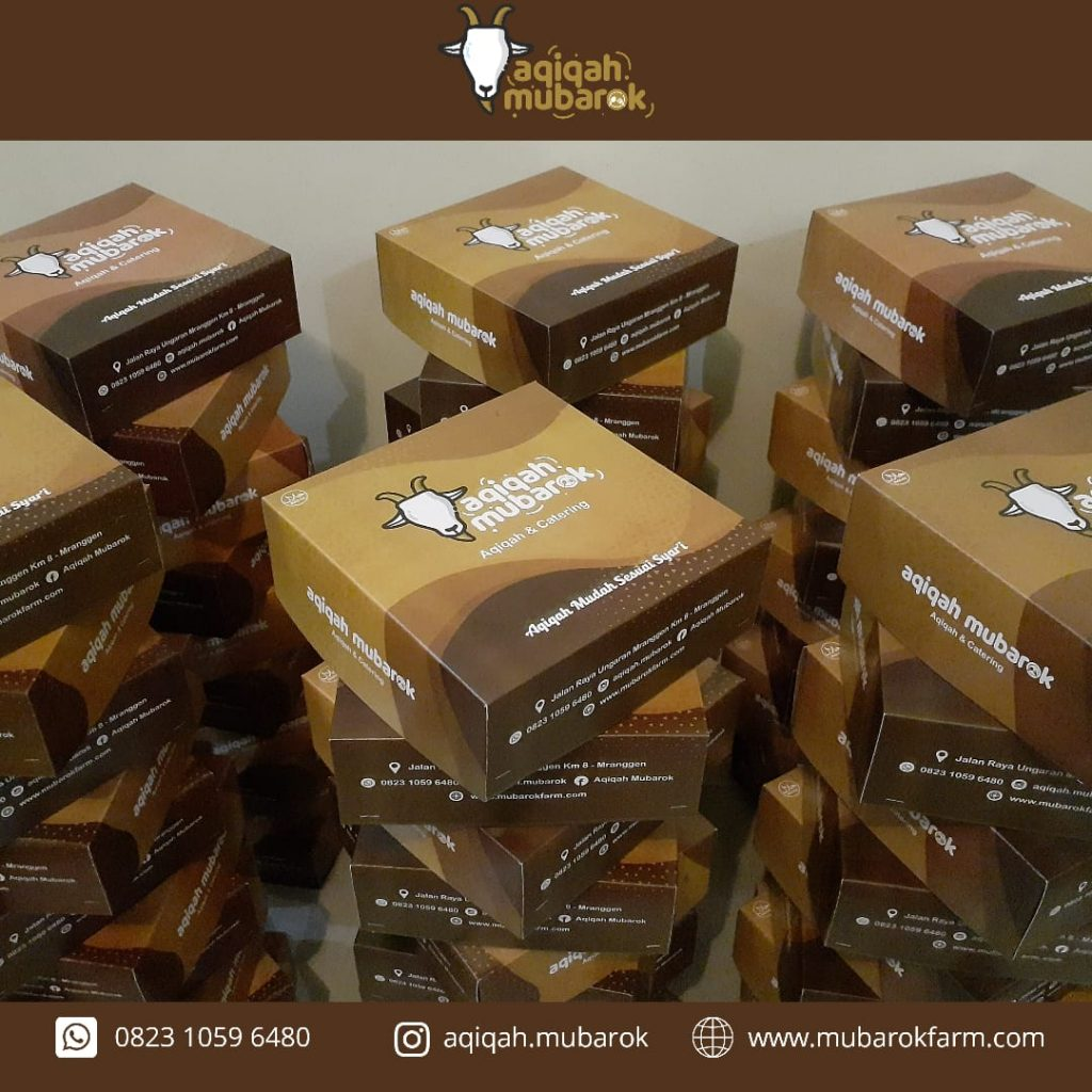Paket Aqiqah Semarang B