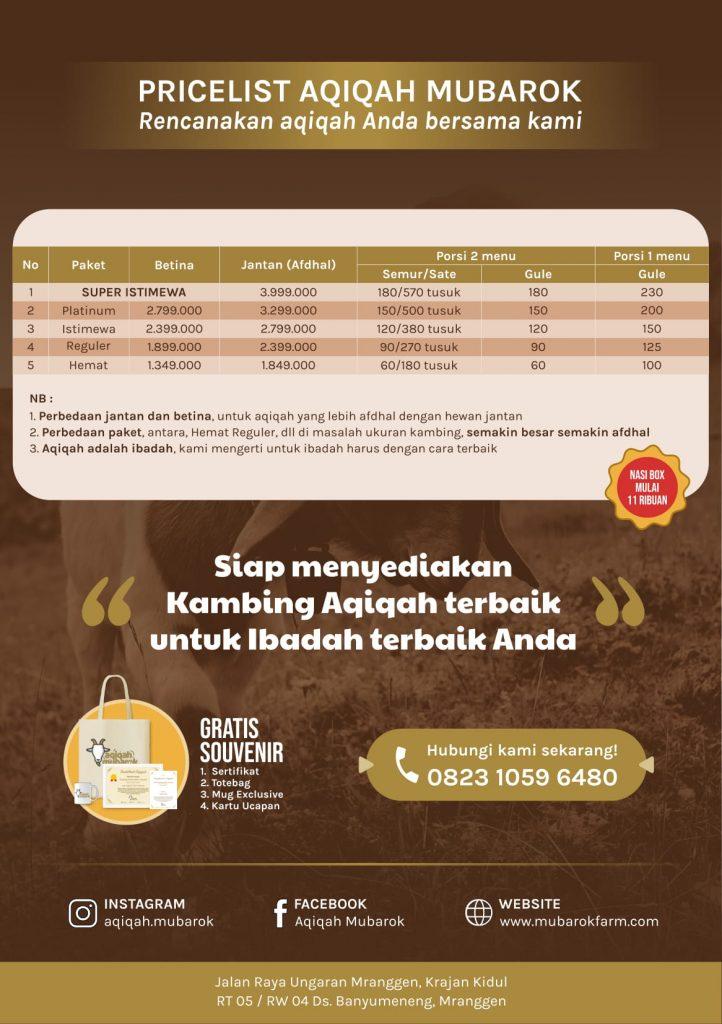 CAtering Aqiqah di Semarang