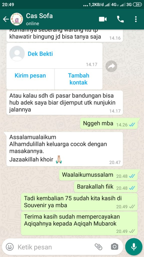 Aqiqah urul Hayat Semarang