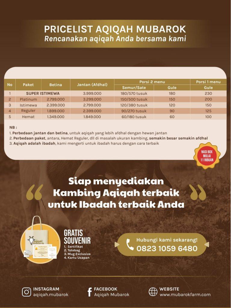Paket Aqiqah Bandungan